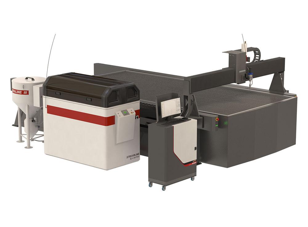 PTW-2040 STD Waterjet Cutting Machine